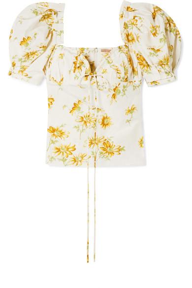 Brock Collection Trixie Oberteil aus Voile mit floralem Print