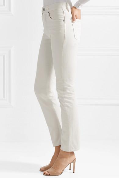 Brock Collection Wright hoch sitzende Jeans mit geradem Bein