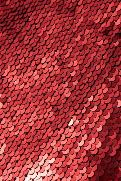 Marques' Almeida Drapiertes, asymmetrisches Minikleid aus Tüll mit Pailletten
