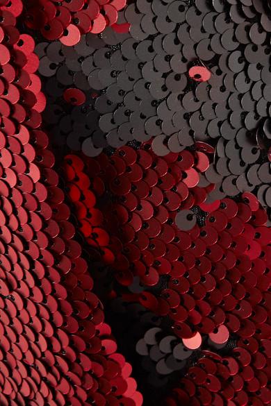 Marques' Almeida Asymmetrischer Wickelrock aus Tüll mit Pailletten
