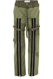 Marques' Almeida Zip-detailed shell and poplin pants