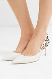 Sophia Webster Angelo cutout leather pumps