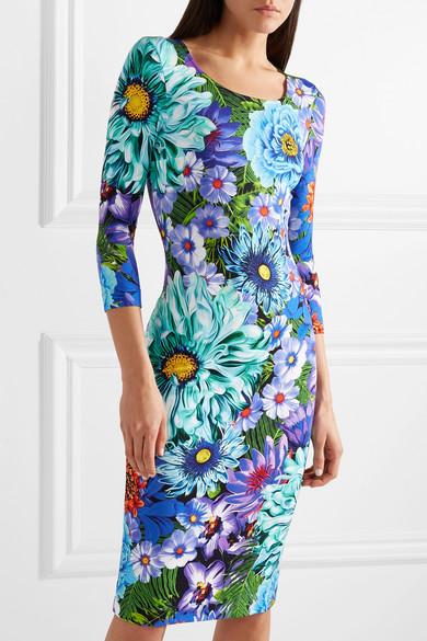 Mary Katrantzou Pluto bedrucktes Kleid aus Jersey mit Stretch-Anteil