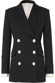 Alessandra Rich Embellished double-breasted wool blazer