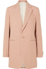 Darius oversized canvas blazer
