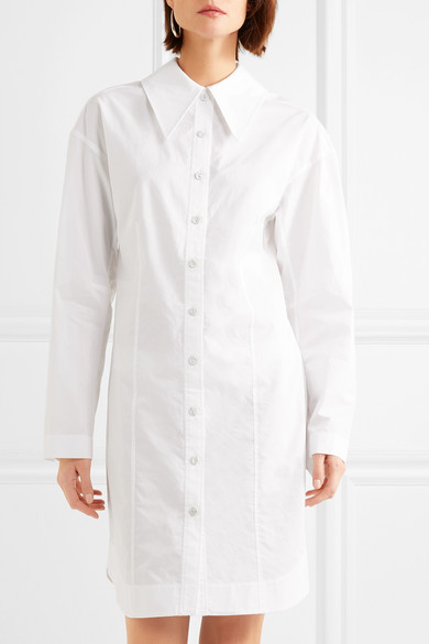 Joseph Ruben Hemdblusenkleid aus Baumwollpopeline