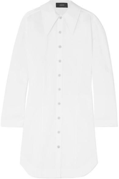 Ruben Cotton-poplin Shirt Dress - White Joseph WSIFOl