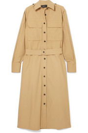 Joseph Hayes cotton-poplin midi shirt dress