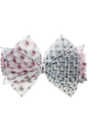 Betty polka-dot tulle headband