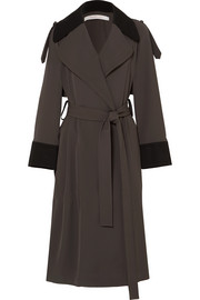 See by Chloé Two-tone jersey trench coat