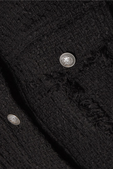 IRO Paloma Jacke aus Baumwoll-Tweed