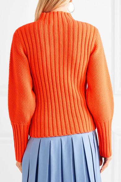 Victoria, Victoria Beckham Rollkragenpullover aus Wolle