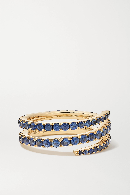 Anita Ko - 18-karat gold sapphire ring