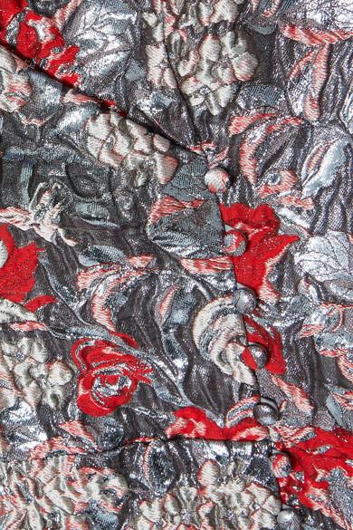 Erdem Jyoti Midikleid aus Jacquard mit floralem Muster Verkauf Kauf Freies Verschiffen Erhalten Authentisch Spielraum Billigsten 7kvKf6a