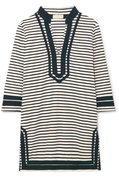 8b411ccf4636 Tory Burch   Striped cotton-blend terry tunic   NET-A-PORTER.COM