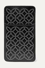 Alaïa Arabesque studded leather iPhone 6 and 7 Plus case