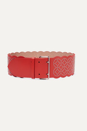 Alaïa Studded leather waist belt