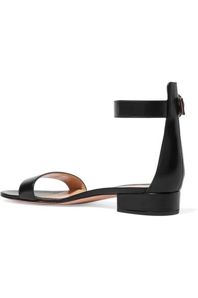 Gianvito Rossi Portofino 20 Sandalen aus Leder