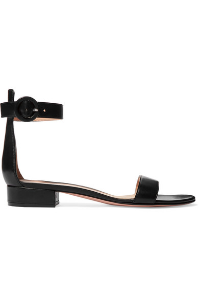 Gianvito Rossi Portofino 20 leather sandals LILHsG