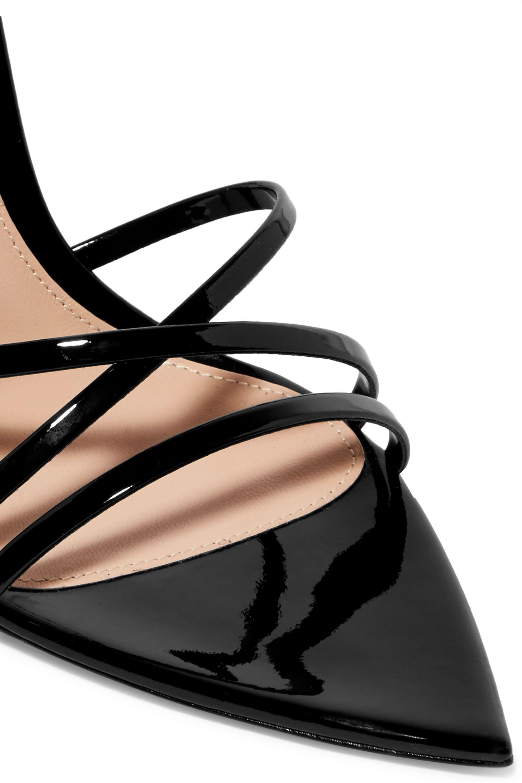Gianvito Rossi 105 patent-leather sandals