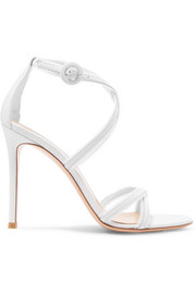 Gianvito Rossi 100 leather sandals