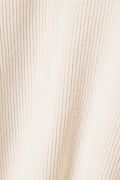The Row Mirabelle Rippstrickpullover aus einer Baumwollmischung