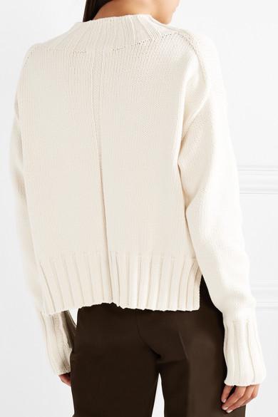 The Row Gracie Oversized-Pullover aus einer Baumwollmischung