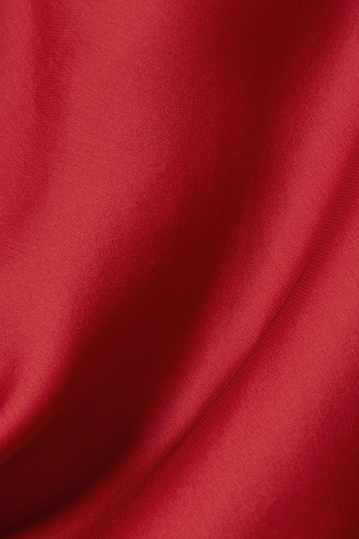 The Row Biggins matte silk-satin camisole