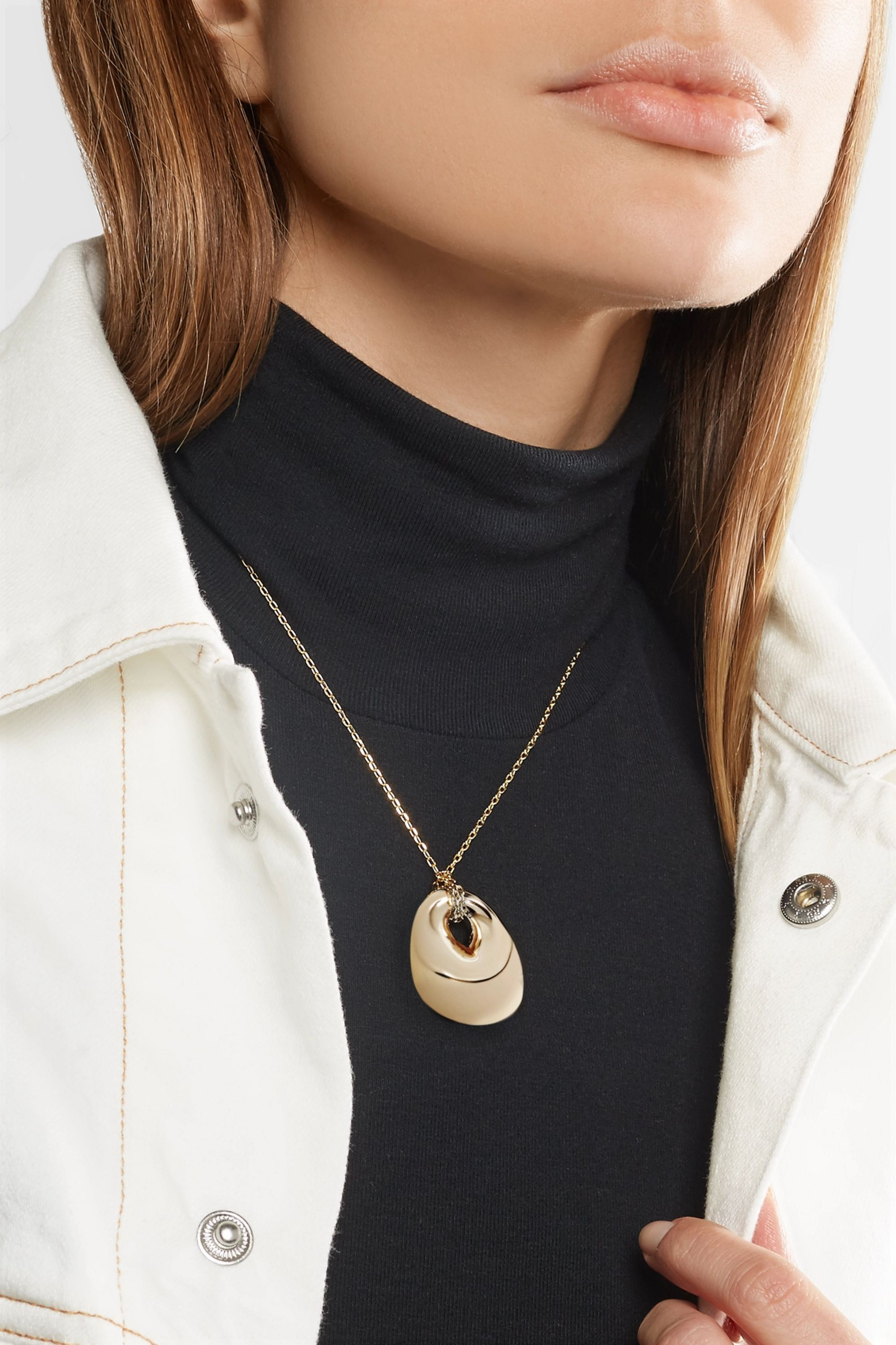 JW Anderson Gold-tone necklace
