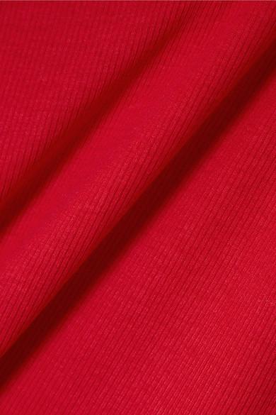 Beaufille Zinner Rollkragenoberteil aus geripptem Stretch-Strick mit Cut-out Günstig Kaufen Beliebt Freies Verschiffen Billig Rabatt Bester Platz Verkauf Günstigen Preisen 2018 Online vJ80EX