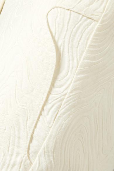 Beaufille Zelus Schlaghose aus Jacquard aus einer Baumwollmischung