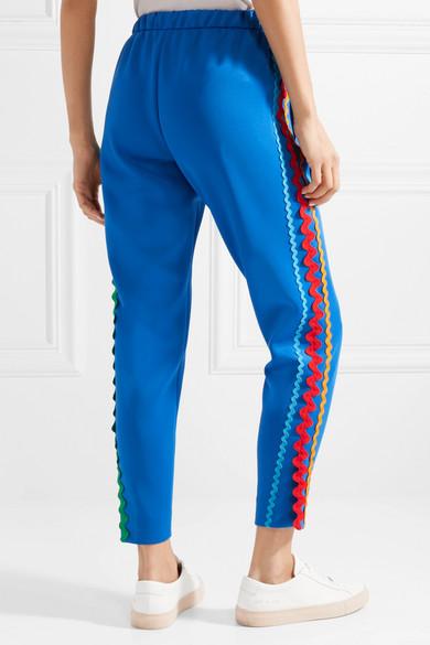Pantalon De Jogging En Jersey De Coton Mira Mikati Avec Stretch Et Rickrack