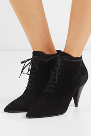 Saint Laurent Era suede ankle boots