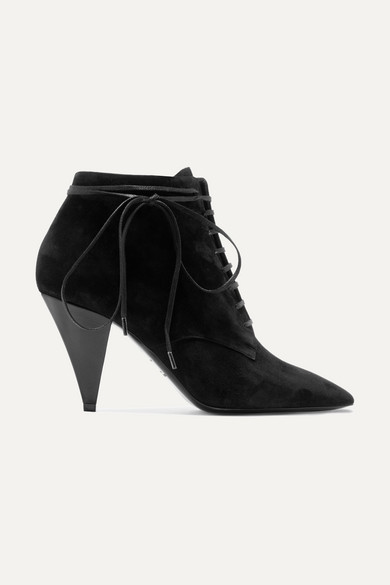Era Suede Ankle Boots in Black