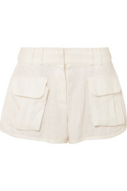 Zimmermann Golden Skater linen shorts
