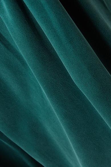 Zimmermann Hose aus vorgewaschener Seide