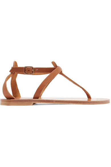 K.JACQUES Cedre Leather Sandals in Tan