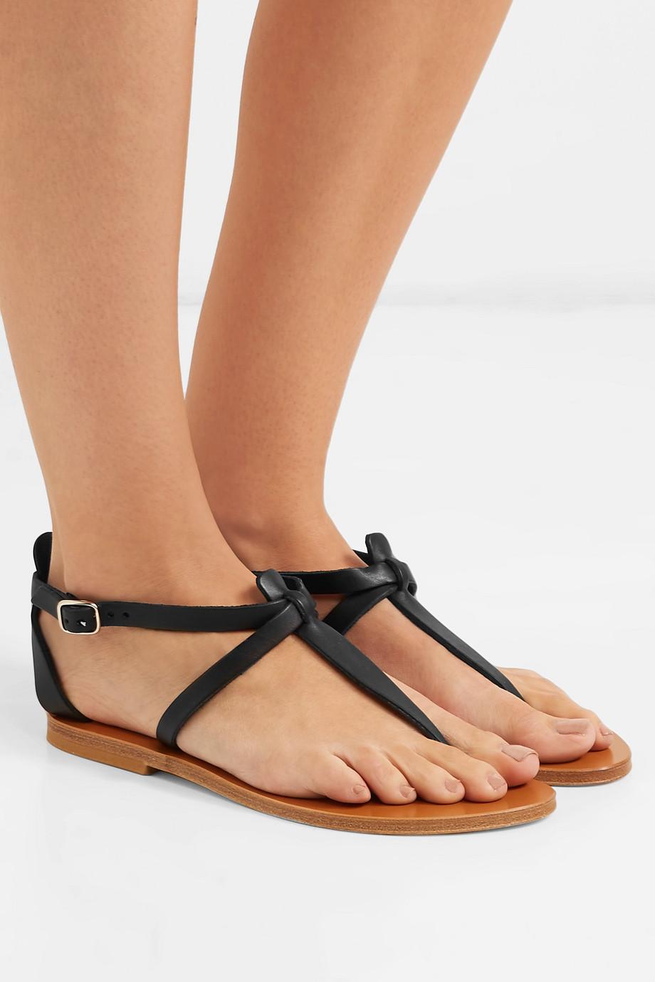 Leather Sandals K St Jacques Tropez Cedre jRA3Lc54q