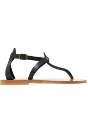 Cedre leather sandals