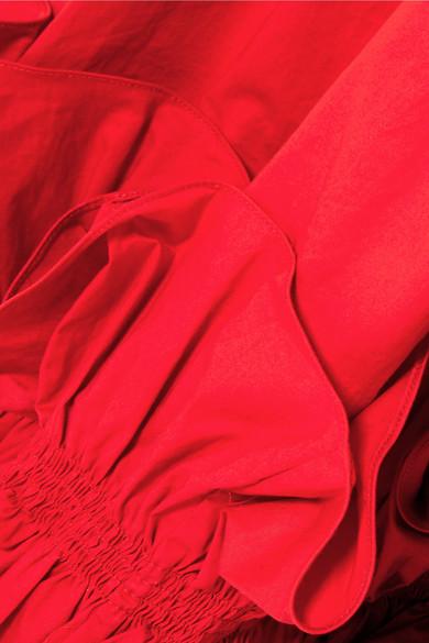 Verkauf Visum Zahlung Johanna Ortiz Fleur De Geisha Maxirock aus einer Baumwollmischung mit Rüschen Rabatt Fälschung Freies Verschiffen Hohe Qualität Größte Anbieter Günstiger Preis Freies Verschiffen Der Niedrige Preis tFvBWQUa