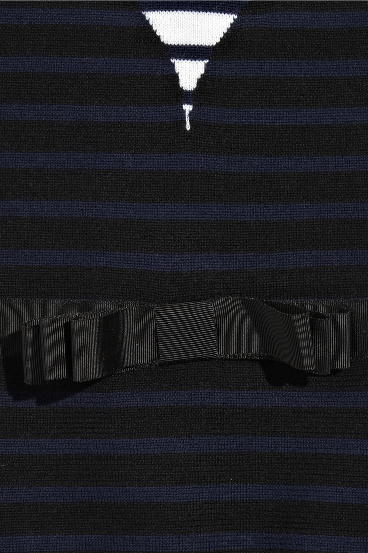 Markus Lupfer Bodice-detail wool sweater