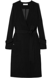 Victoria Beckham Technical crepe trench coat