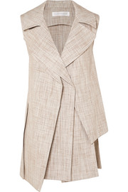 Victoria Beckham Layered tweed vest