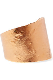 Givenchy Brushed gold-tone cuff