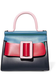 Karl 24 color-block leather tote