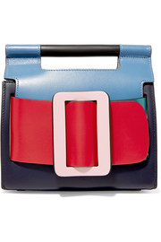 Boyy Romeo color-block leather clutch