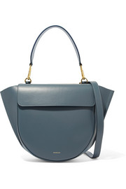 Hortensia leather shoulder bag