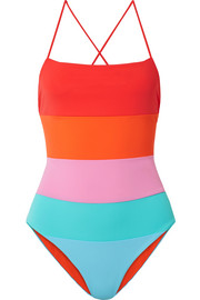 Olympia color-block swimsuit