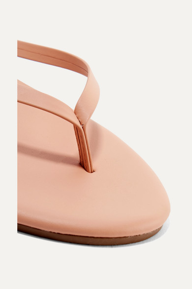 TKEES Lily Flip-Flops aus mattem Leder