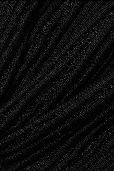Sonia Rykiel Abgestufter Midirock aus einer gerippten Wollmischung